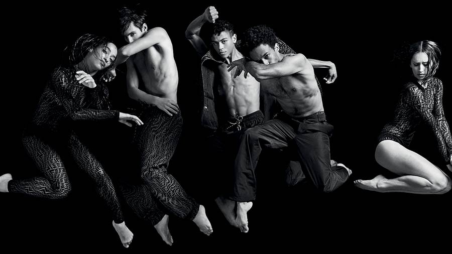 The dancers of the Paris Opera Ballet in Fendi's beautiful summer collection