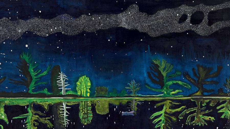 Interview with Peter Doig, the celebrated painter who collaborated with Kim Jones