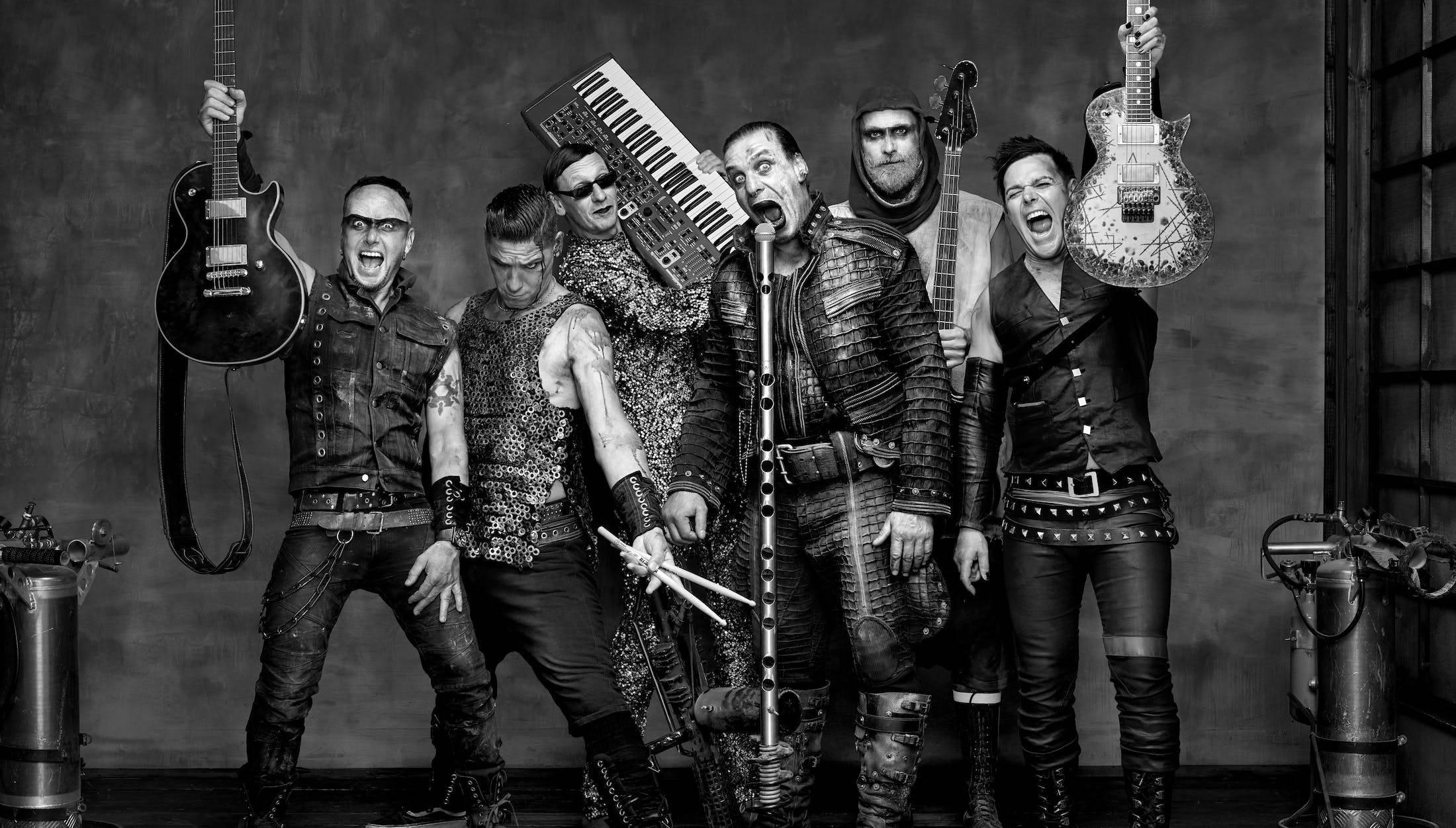 L'histoire du groupe de metal Rammstein